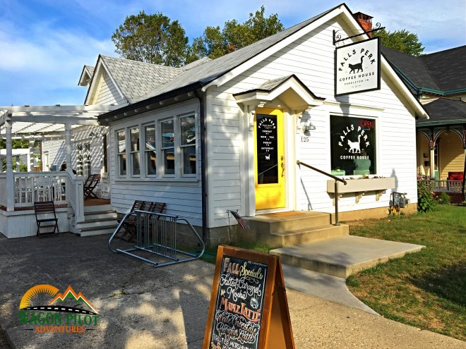 Falls Perk Coffee House © Wagon pilot Adventures