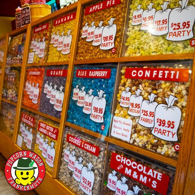 The Popcorn Wagon -- Frankenmuth River Place Shops