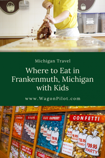 Where to Eat in Frankenmuth Michigan with Kids