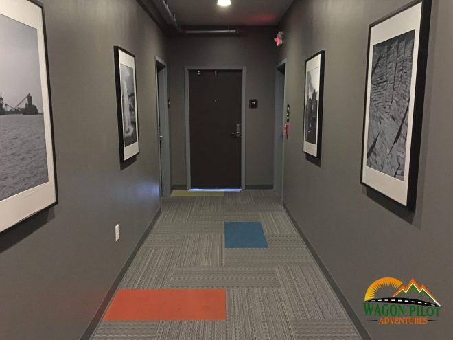 Hotel Kilbourne room hallway © Wagon Pilot Adventures