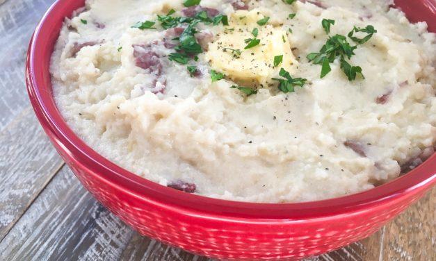 Instant Pot Garlic Mashed Potatoes Recipe