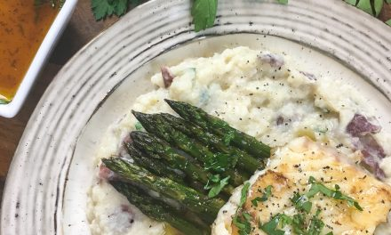 Pan Seared Grouper with Lime Butter Sauce Recipe