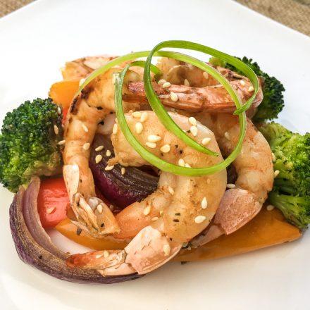 Sheet Pan Asian Shrimp with Vegetables