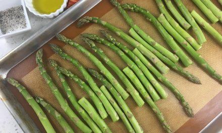 Sheet pan Oven Roasted Asparagus Recipe
