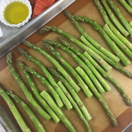 Sheet Pan Oven Roasted Asparagus