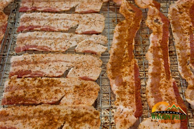 How to Cook Bacon in the Oven © Wagon Pilot Adventures