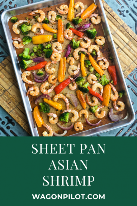 Sheet Pan Asian Shrimp with Vegetables