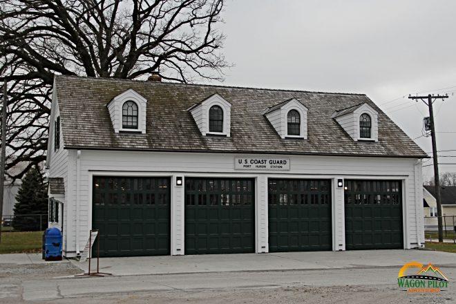 Gift shop at Fort Gratiot Lighthouse © Wagon Pilot Adventures