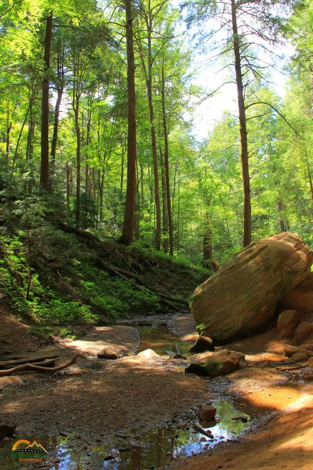 Hocking Hills Ash Cave Trail