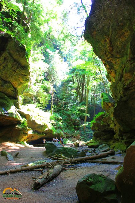 Hocking Hills Conkles Hollow Hiking Trail
