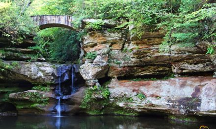 Hocking Hills State Park Old Man's Cave Hiking Trail