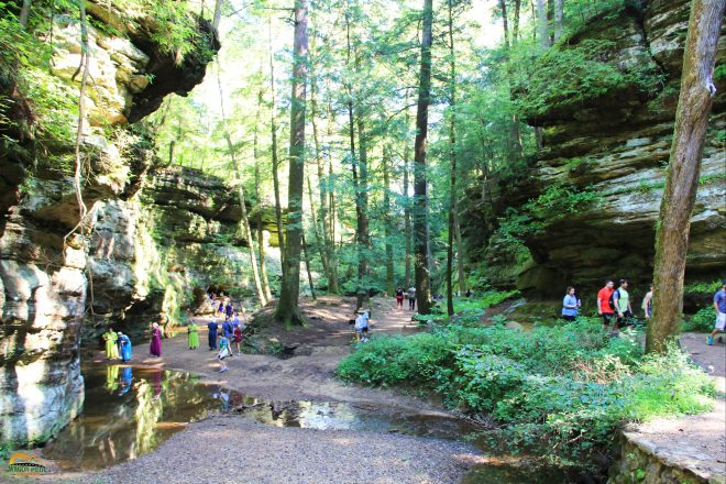 Hocking Hills Old Man's Cave Trail