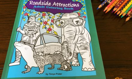 Roadside Attractions Adult Coloring Book