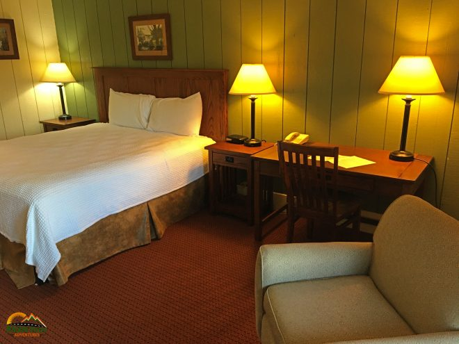 Salt Fork Lodge guest room © Wagon Pilot Adventures